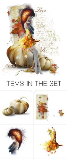 """""""Autumn Fairy"""" by fashionista1864 ❤ liked on Polyvore featuring art"""