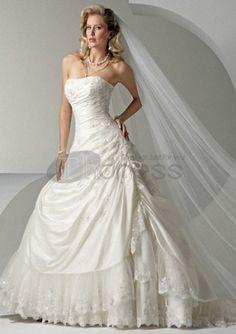 Abito senza spalline abiti da sposa 2012 senza spalline