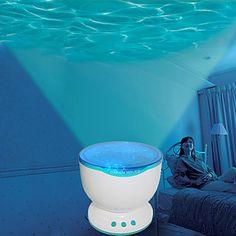 Ocean Projector Pot - Lichtshow met Watereffect
