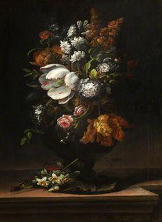 Summer Flowers, 1693 by follower of Rachel Ruysch