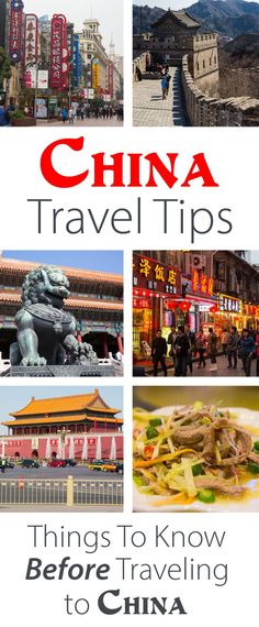 China travel tips: the things to know before traveling to China via @earthtrekkers