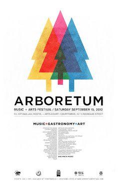 Arboretum Festival Poster