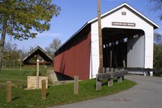 Cumberland Covered Bridge Matthews, Indiana.  My home town.  Spent a lot of time at the bridge growing up.