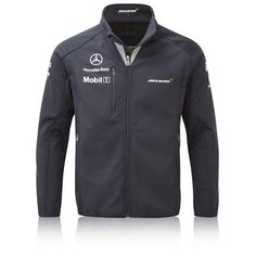 Team McLaren Ltd McLaren Mercedes 2014 Team Softshell Jacket Swag Outfits Men, Trendy Outfits, Fashion Outfits, Team Jackets, Men's Coats And Jackets, Camisa Formula 1, Corporate Shirts, Mclaren Mercedes, Mercedes Benz