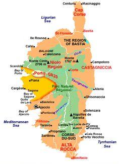 Corsica 120 Miles Hiking Pinterest Global Village Walking