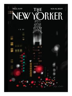The New Yorker Cover - November 16, 2009 Poster Print by Jorge Colombo at condenaststore.com