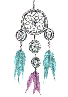 dreamcatcher drawing