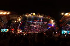 Last Night of the Proms - Hyde Park, London