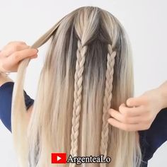 Reign Hairstyles, Work Hairstyles, Viking Hairstyles, Braided Hairstyles For Long Hair, Hairstyle Braid, French Braid Hairstyles, Makeup Hairstyle, Unique Braided Hairstyles, Braided Hairstyles Tutorials