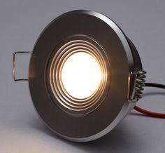 High Power 1 x 1W LED Recessed Downlights 1W=15W