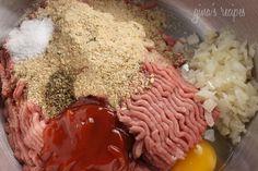 Turkey Meatloaf | Skinnytaste. Substitute parsley for marjoram.