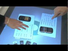 Interactive table surface - Mobile focused