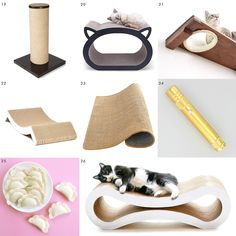 Pet supplies that look great in your home! // Attractive pet products // via Yellow Brick Home Love Your Pet, Love Pet, Dog Cave, Dino Toys, Clay Cats, Terrier Mix Dogs, Terriers, Unicorn Cat, Animal Shelter