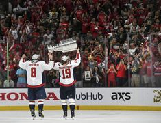 How the Washington Capitals partied in Las Vegas with the Stanley Cup - The Washington Post Caps Hockey, Hockey Teams, Washington Capitals Stanley Cup, Capitals Hockey, Alex Ovechkin, Tyler Seguin, Stanley Cup Champions, World Of Sports, Nhl