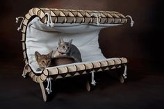 KittiCraft™ | Cove - Luxury Cat Bed with Modern and Minimalist Styling | KittiCraft™