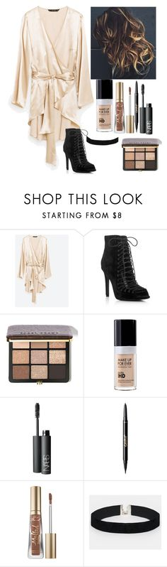 """""""Untitled #6665"""" by kimboloveniallhoran ❤ liked on Polyvore featuring Kendall + Kylie, GURU, Bobbi Brown Cosmetics, MAKE UP FOR EVER, NARS Cosmetics, tarte, Too Faced Cosmetics and ASOS"""