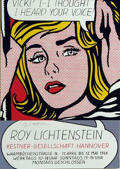 Vicki by Roy Lichtenstein