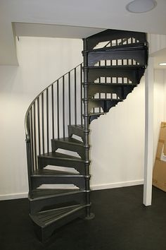 Cast Aluminium Spiral Stairs | Products | Unique Iron Design
