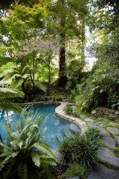 Woodland swimming pool. Creek fed. Nice walk through of this property.