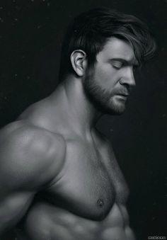 Beard men study, Ivan Mitrohin on ArtStation at https://www.artstation.com/artwork/beard-men-study
