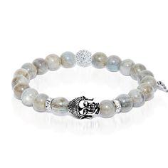 Rebirth - Labradorite Buddha Charm Bracelet - Inspiration|Memory|Meditation – Joseph Nogucci