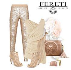 """Fereti Bag"" by andrejae ❤ liked on Polyvore featuring BCBGMAXAZRIA, Bailey 44, Kristin Cavallari, Michael Kors, women's clothing, women's fashion, women, female, woman and misses"