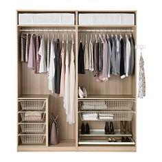 PAX Wardrobe - - IKEA really well organised wardrobe!