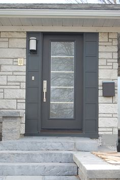 Porte d 39 entr e atulam imposte cintr e komilfo portes d - La porte exterieure ...