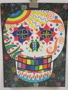 El Dia de los Muertos Paper Calavera (skull)