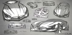 Mercedes Benz XLR Concept by Dongman Joo, via Behance