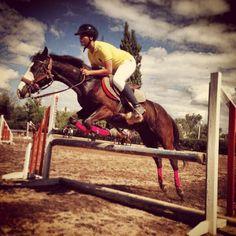 Equestrian Job! Nice jump
