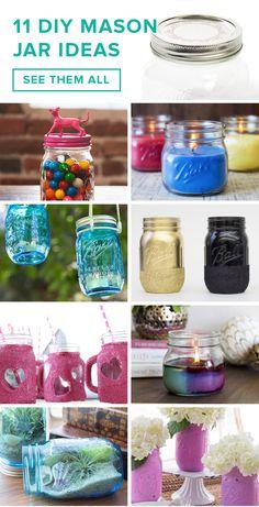 11 DIY mason jar ideas for the summer