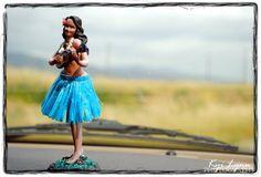 My Dashboard Hula Girl.  She has seen it all!
