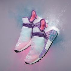 92746a637 AC7362 adidas PW Human Race NMD Pharrell Williams HU Holi - Pink Glow