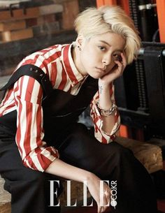 Amber wants everyone to know that they're beautiful in 'Elle' interview | http://www.allkpop.com/article/2015/02/amber-wants-everyone-to-know-that-theyre-beautiful-in-elle-interview