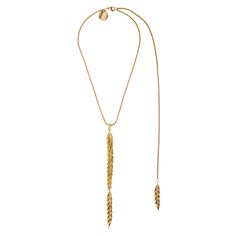 Fields of gold :) necklace from BERY collection by Anna Orska.