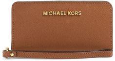 MICHAEL Michael Kors Jet Set Travel Slim Tech Wristlet on shopstyle.com.au