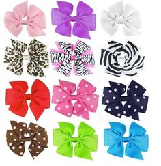 Super Cute Hair Bows Only $1.17 Each! - Raining Hot Coupons