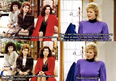 Designing Women!...Charlene thinking Monette (who she's known her WHOLE LIFE) could somehow be a man lmao!