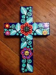 Resultado de imagen de cruces decoradas