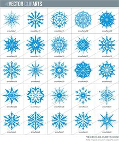 Crochet Snowflakes -- Free Patterns