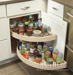 Merillat Classic® Base Blind Corner Cabinet with Lazy Susan - Merillat