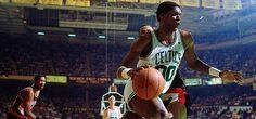 Larry Bird - Robert Parish - Boston Celtics - Indiana Pacers