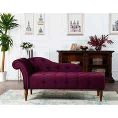 Shop for Jennifer Taylor Samuel Tufted Chaise Lounge. Get free shipping at Overstock.com - Your Online Furniture Outlet Store! Get 5% in rewards with Club O!