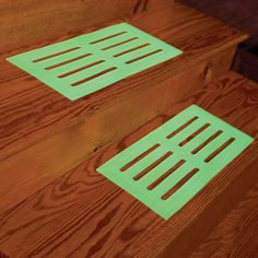 glow in the dark stair treads