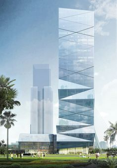 Gallery - HENN Wins Competition to Design Wenzhou High-Rise - 5