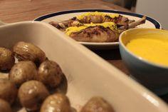 Kip met olijven en saffraan yoghurt Mechelse koekoek