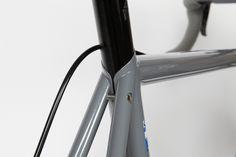 Feather road bike detail. Awesome. Photo by Kayti Peschke via http://www.bespokedbristol.co.uk