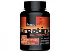 Creatina Monohydrate 120g - Basic Nutrition com as melhores condições você encontra no Magazine 123claudia. Confira!