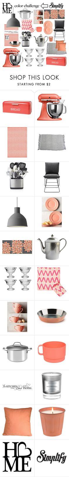 """(37)"" by cristina-daniela-munteanu ❤ liked on Polyvore featuring interior, interiors, interior design, home, home decor, interior decorating, KitchenAid, Dash & Albert, NOVICA and Crate and Barrel"